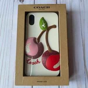 Authentic Coach IPhone Case